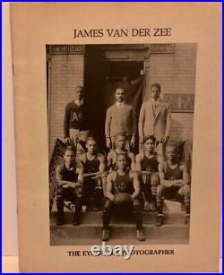 Rare James Van Der Zee The Eye Of The Photographer Exh Pamphlet African American