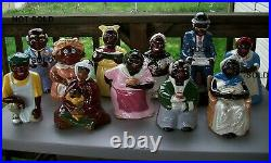 Rare Limited Edition Black Americana Joey Cookie Jar J. C. Miller Le