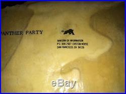 Rare Orig. 1968 Black Panther Party Poster By Emory Douglas Pls Make Offer