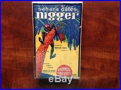 Rare Sahara Dates Box Black Americana Early 1900's