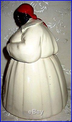 Rare Vintage Black Americana McCoy Aunt Jemima Cookie Jar