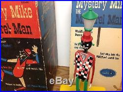 Rare Vintage Black Americana Mystery Mike The Minstrel Man Toy Bell Products
