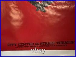 Rare Vintage Original 1984 Alvin Ailey American Dance Theatre Red Poster 25 X 38