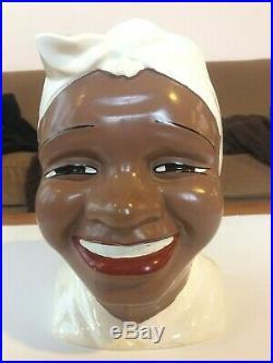 Rare! White Gilner Mammy Black Americana Cookie Jar, Museum Condition