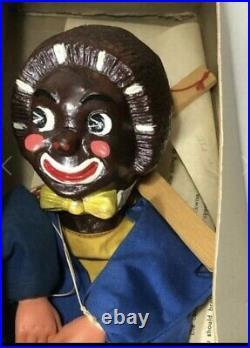 Rare black americana Barnsburry puppet collectible