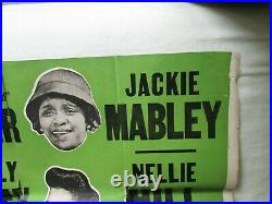 Revue Poster 1940s Greatest All-Colored cast. Moms Mabley ++++