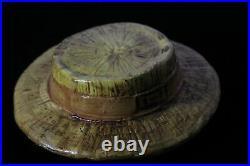 Rick Wisecarver Wihoa's Black Americana Gentleman with Straw Hat Cookie Jar
