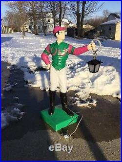 SALE! LAWN JOCKEY 44 Concrete Statue (Possible FREE Delivery. ASK)Horse
