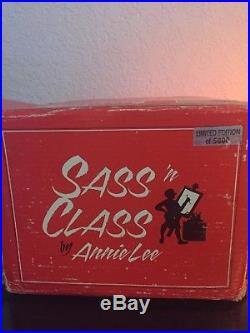 SASS N CLASS BY ANNIE LEE HOLY GHOST #6003 (Limited edition 1 of 5000) LAST ONE