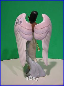 SOUNDS OF GLORY ANGEL sculpture by Thomas Blackshear NEW in BOX withCOA Lenox