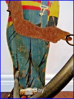 SPRINKLIN SAMBO yard lawn Sprinkler BLACK AMERICANA vintage antique 1930s wood