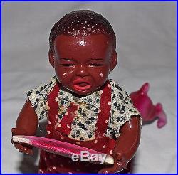 SUPERB Boxed POOR PETE Perwar Japanese Black America Toy WORLDWIDE SHIPPING
