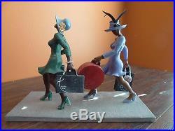 Sass N Class Annie Lee Power Shopping Ebony Black Women Friends Figurine Statue