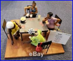 Sass'n Class by Annie Lee Misdeal #6034 Card Playing Figurine Scene RARE