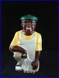 Shoe Shine Boy Cookie Jar Black Americana Jar By C Gifford Ultra Limited Edition