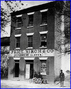 Slave Auction House #1 Photo 8X10 Alexandria VA 1865 Buy 2 Get One FREE