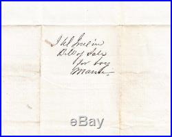 Slave Bill of Sale District of Columbia Negro Boy Named Maui $450 April 12 1834