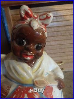 Super rare vintage. Aunt Jemima Cookie Jar