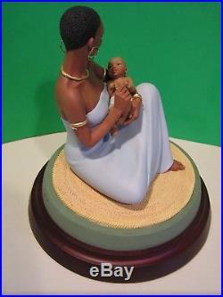 THE BLESSING sculpture Thomas Blackshear NEW in BOX with COA 2009 Ebony Visions