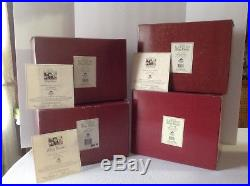 THOMAS BLACKSHEAR EBONY VISIONS SPRING, SUMMER, AUTUMN, WINTER with BOX and COA