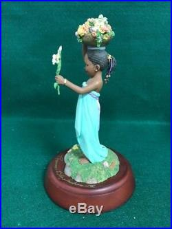 THOMAS BLACKSHEAR Ebony Visions 1st Issue SIGNED FLOWER GIRL NEW IN BOX