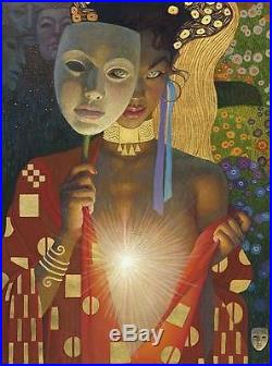 THOMAS BLACKSHEAR INTIMACY LIMITED EDITION LITHOGRAPH SIGNED/NUMBERED