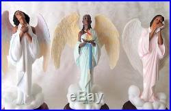Thomas Blackshear's Ebony Visions Faith, Hope & Love Virtues Series Angels
