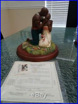THOMAS BLACKSHEAR'S EBONY VISIONS, THE KISS ITEM 37034, certificate