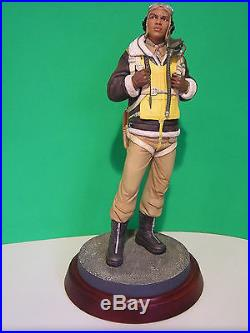 THOMAS BLACKSHEAR THE TUSKEGEE AIRMAN RED TAILS WW II sculpture NEW in BOX withCOA