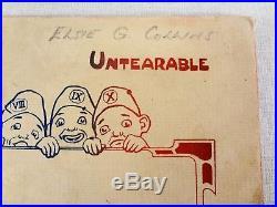 Ten Little Nggers Brett Davis 1910 Dean London Untearable Black Americana Book