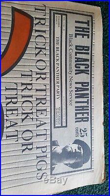 The Black Panther Party Newspaper October 31, 1970 Babylon vol v no 18