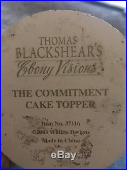 The Commitment #37067 by Thomas Blackshear Ebony Visions Ltd Ed #1369 First Iss