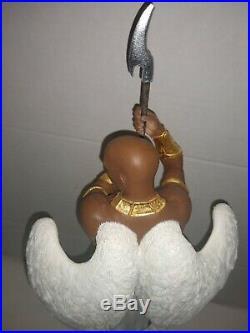 The Sentinel Thomas Blackshears Ebony Visions figure # 478/1500