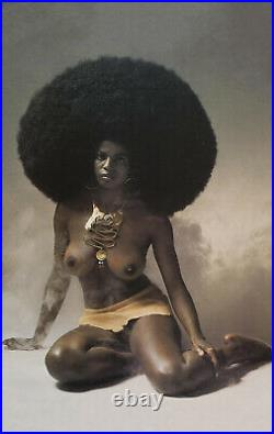 The Shining Movie Nude Black Woman Afro Two Posters 1980 -17x22 Fine Art Print
