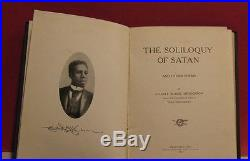 The Soliloquy Of Satan and Other Poems by Elliott Blaine Henderson 1907