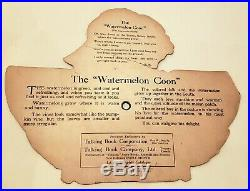 The Watermelon Coon Talking Book Corp 1919 Emerson Phono Company 4 78 Record