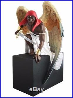 Thomas Blackshear Black Angel Ready For Battle Limited Edition Hand Signed