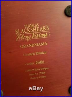 Thomas Blackshear Ebony Vision's Grandmama- New In Box