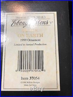 Thomas Blackshear Ebony Visions 1997 LITTLE BLUE WINGS & 1998-2002 ornaments