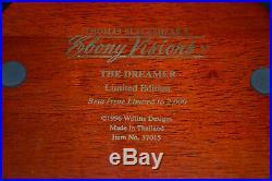 Thomas Blackshear Ebony Visions 37015 The Dreamer Beta Issue in Box Limited 2000