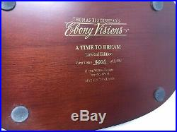 Thomas Blackshear Ebony Visions A Time to Dream First Issue 37010 Signed WithBox