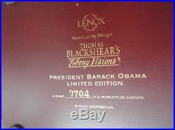Thomas Blackshear Ebony Visions BARACK OBAMA PRESIDENTIAL EDITION Limt Ed COA