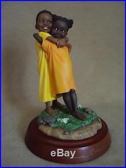 Thomas Blackshear Ebony Visions DOUBLE HUG SIGNED NIB