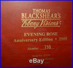 Thomas Blackshear Ebony Visions Evening Rose Anniversary Red Dress 2005 #37130
