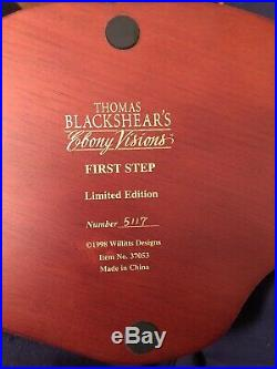 Thomas Blackshear Ebony Visions First Step Figurine Limited Edition Mother & Son