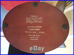 Thomas Blackshear Ebony Visions JOYFUL NOISE Limited Edition Theta Issue Mint