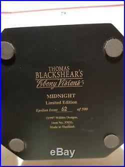 Thomas Blackshear Ebony Visions-Midnight-Ltd. Ed. Retired-Ca. 1997First issue#62