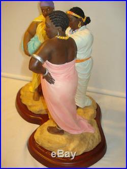 Thomas Blackshear Ebony Visions OH NO SHE DIDN'T Figurine New in Box