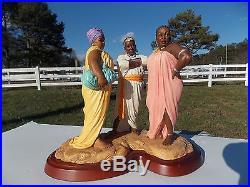 Thomas Blackshear Ebony Visions OH NO SHE DIDN'T! Retired Limited Edition w COA