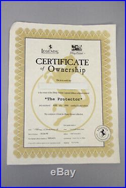 Thomas Blackshear Ebony Visions Protector Legends Limited Edition Of 950 Certifi